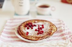 Swedish pancakes.  YUM  365 days of breakfast - Saturday