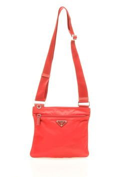 Prada Shopping Nylon Tote with Crossbody Strap - Corinto BN 2031 ... - prada galleria bag lacquer red 1