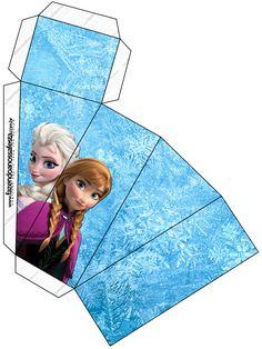 Cake Slice Box Caixa Fatia Frozen Disney - Uma Aventura Congelante: http://www.fazendoanossafesta.com.br/2014/01/frozendisney-umaaventuracongelante.html/frozen-disney-uma-aventura-congelante-78/#main