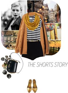 """""""the shorts story"""" by ladysnape ❤ liked on Polyvore"""