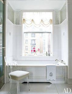 White Bathroom Design Ideas Photos | Architectural Digest