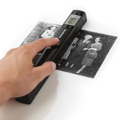 Wirelessly scan receipts, letters, recipes, photos and more