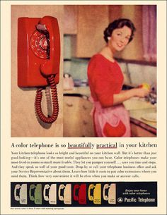 Telephones -- in color!