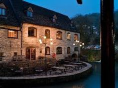 Egypt Mill hotel & restaurant - overlooking river Frome