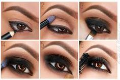 How to: Easy Smokey Eyeshadow Makeup Tips, Eye Makeup, Smoky Eyes, Smokey Eyeshadow, Putting On Makeup, Fashion Beauty, Make Up, Lipstick, Classic