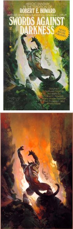 "1978 Full Color Plate /""Bran Mak Morn/"" by Frank Frazetta Fantastic GGA"