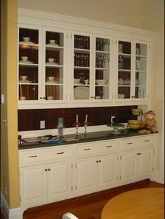 I want a dining room just so I can have a built in hutch