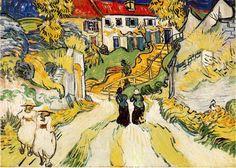 Vincent Van Gogh - L'escalier d'Auvers