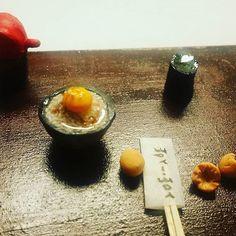 #간장 #계란 #miniaturefood  #Miniature #Polymer clay #Koreanfood #handmade #ミニチュア #날계란비빔밥