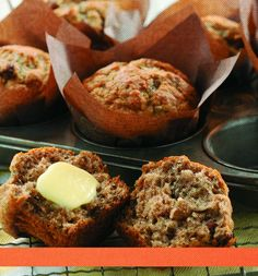 Banana Lentil Muffins We loved these! I added 1/4 of bran and substituted 1/3 cup of flour with 1/3 of coconut flour and swapped raisons for chocolate chips! Sooo Good!