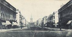Regent Street, London, about 1845