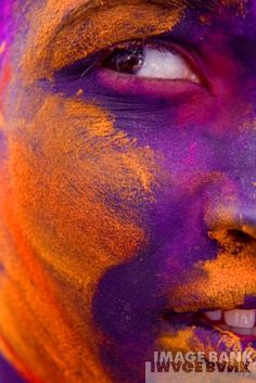 via Getty Images; Hindu devotees playing with coloured powders during Holi celebrations at the Bankey Bihari Temple on March 21, 2011 in Vrindavan, India. Holi, the spring festival of colours, is celebrated by Hindus around the world in an explosion of color to mark the end of the winter.