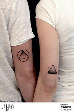 Mafis Fischerová | Brno / Prague, Czech Republic - Couples' Tattoos