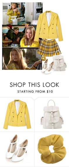 """Cher Holowitz"" by priscilla12 ❤ liked on Polyvore featuring SilverStone, Monday, Splendid, MANGO, Retrò, Topshop, Cher and clueless"