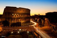 Rome and Colosseum