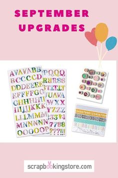 This month we prepared a fantastic stash for the customers who choose to Upgrade! 😍 You'll be excited about these embellishments: American Crafts Journey Thickers, Pink Paislee Truly Grateful  Buttons and you'll get either these cute washi stickers OR these adorable enamel dots. (limited quantity) 💝⁣ #scrapbookingstore #simplestories #iam2020collection #scrapbooklayout #scrapbookingkits #papercraft #scrapbooking #cardmaking