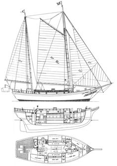 TAHITIANA 32 Sailboat Steel Redesign Of Jack Hanna