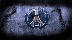 Paris Saint Germain PSG FC Football Logo