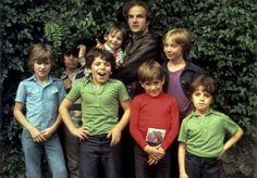 Truffaut with the cast of 'Small Change'--L'Argent de Poche