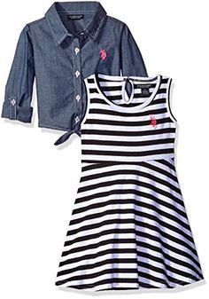 U.S. Polo Assn. Little Girls' Striped Knit Skater Dress w... https://www.amazon.com/dp/B01IKCJBYU/ref=cm_sw_r_pi_dp_x_UotzzbA9MSE1K