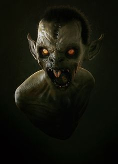 Vamp, Maarten Verhoeven on ArtStation at https://www.artstation.com/artwork/KzBZ4