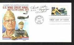 WWII First Day Covers   World War II Ace Chuck Older signed FDC First Day Cover AVG Flying First Day Covers, Vietnam War, World War Ii, Wwii, Battle, Signs, World War Two, Shop Signs, Sign