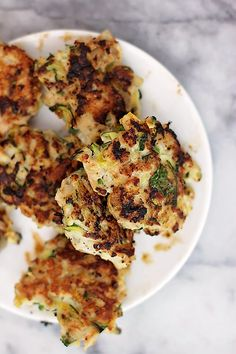 Zucchini Chicken Bites