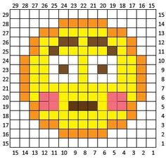 Embarrassed Emoji is the eighth square in my C2C Crochet Emoji Graphgan! If you missed square #1 you can find it here: Heart Eyes Emoji  And square #2 here: Sobbing Emoji  And square #3 here: Tears of