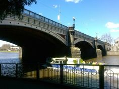 Swanston St bridge over the Yarra River. On a nice day, it's fun catching one of these boats to Williamstown and stopping there for lunch. The boat trip takes you through Melbourne's docks which are really interesting to see.