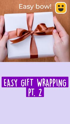 Diy Crafts Hacks, Diy Crafts For Gifts, Dyi Gift Ideas, Diys, Creative Gift Wrapping, Creative Gifts, Easy Gift Wrapping Ideas, Wrapping Presents, Christmas Gift Wrapping