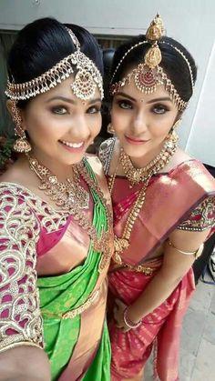 11 gorgeous pouting Selfies taken by Indian brides #SouthIndianWedding #Bridal #SouthIndianBride