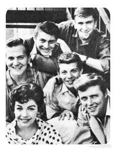 Pat Boone, Paul Anka, Bob Denver, Annette Funicello, Frankie Avalon & Ed Byrnes