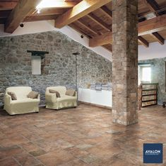 Chicago 4x8 Brick Tile shown in the Old Chicago color | Available at Avalon Flooring | Starting at $6.99/square foot | #bricktile #tilewall #tiledesign
