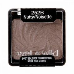 Wet 'n Wild Color Icon Eyeshadow Single - Nutty