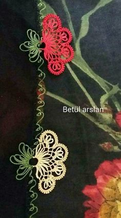 This Pin was discovered by Sif Needle Lace, Bobbin Lace, Needle And Thread, Japanese Embroidery, Hand Embroidery, Embroidery Designs, Drawn Thread, Thread Work, Crochet Unique