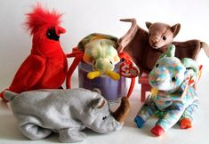 Ty Beanie Babies Plush Animals  Retired by ParadeOfMemories