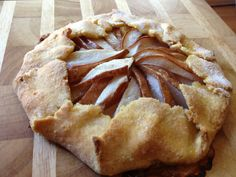 Baking with Julia - Berry & Pear Galettes