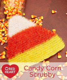 Candy Corn Scrubby F
