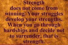 strength and struggles