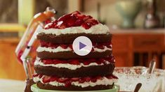 Watch Epic Four-Layer Chocolate Cake