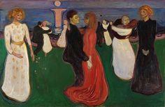 Edvard Munch - The dance of life (1899-1900) - Мунк, Эдвард — Танец жизни