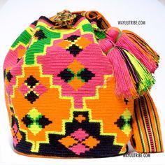 One of A Kind Wayuu Mochila Bag - Quick Ship Anywhere, and International!  $198.00 #wayuubags www.wayuutribe.com