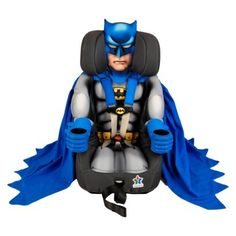 Probably the coolest carseat EVER! nananananananananana Batman!