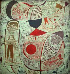 Feuille d'image, Paul Klee. 1937.