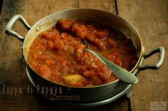 zuppa di papaya e zenzero per l'Australia