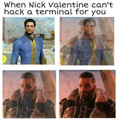 Fallout 4 | When Nick Valentine can't hack a terminal for you
