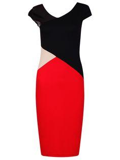 MAIOCCI Collection Geometric Dress, Multi-Coloured