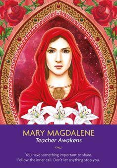 Mary Magdalene - Kyle Gray cards