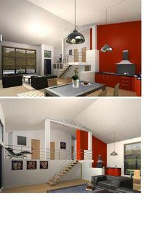 photo quasi notre intrieur plan de maison haute saone - Maison Moderne Avecmezzanine