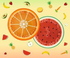 πορτοκαλι, καρπουζι